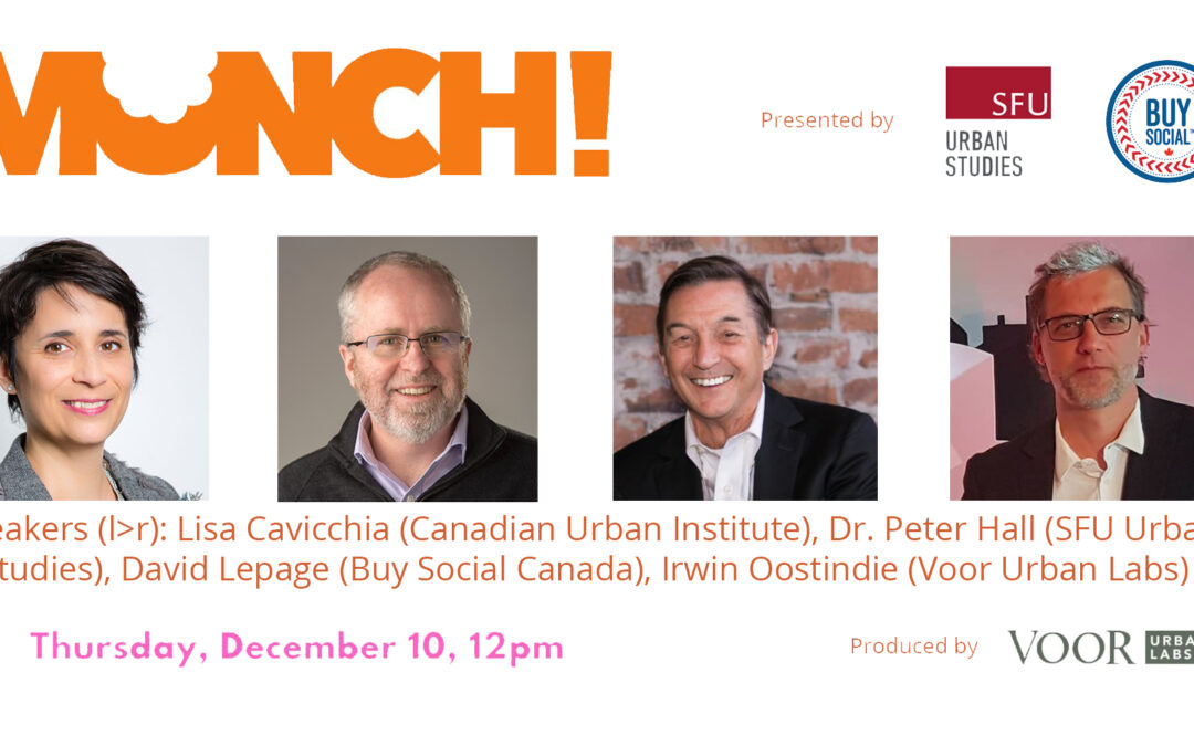 Voor Urban Labs is researching the impacts of North America's largest social enterprise cluster
