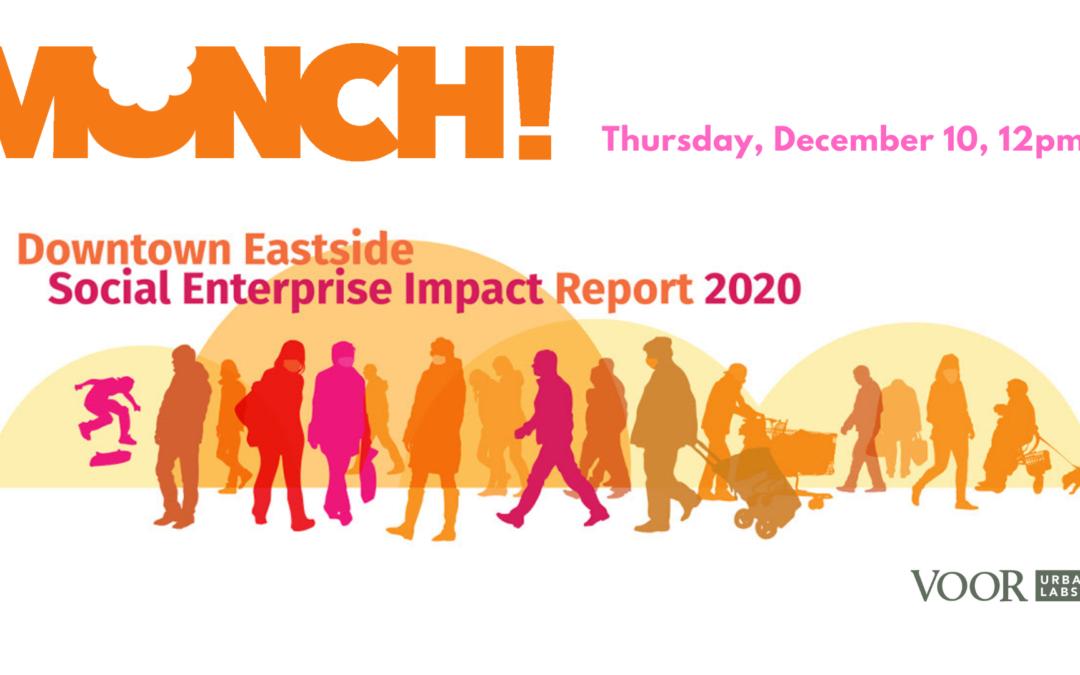 Munch! Pandemic online with social procurement and social enterprise